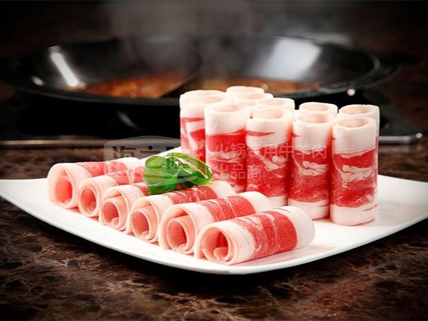 火锅店用的牛羊肉卷刨切厚度是多少?