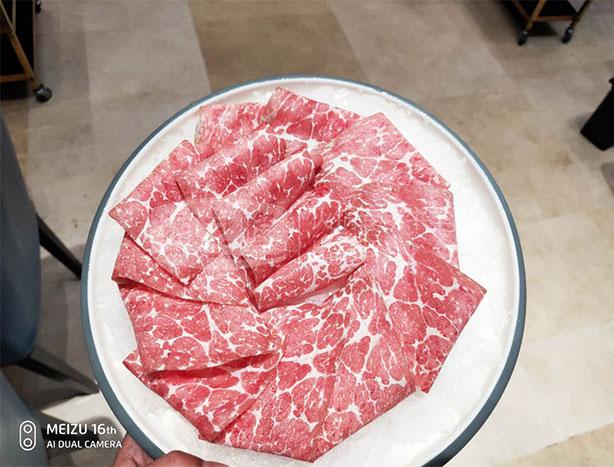 中澳和鑫北极雪牛肉卷客户反馈