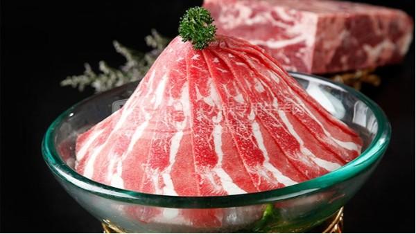 你还不知道资深火锅店都这样卖火锅牛羊肉卷吗?
