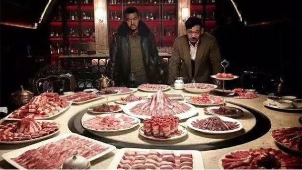 《暴裂无声》里姜武吃的精致牛羊肉火锅,你眼谗么?