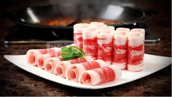 羊肉卷如何缓化才能达到火锅店摆盘标准?