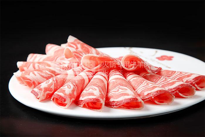 利和鑫507草原羊排肉卷