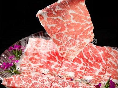 北极雪牛肉卷:花纹多变,口感也变