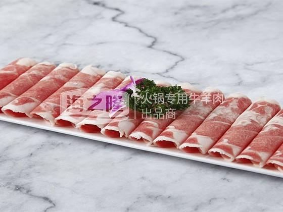 食用羊肉卷这么好?海之隆温情揭秘